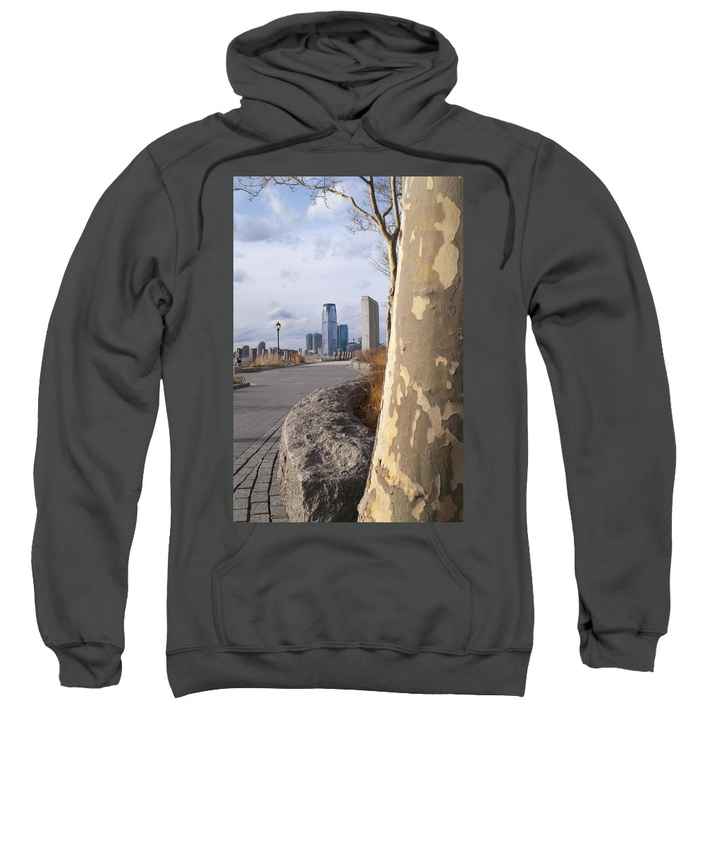 Battery Park Sweatshirt featuring the photograph Battery Park by Henri Irizarri