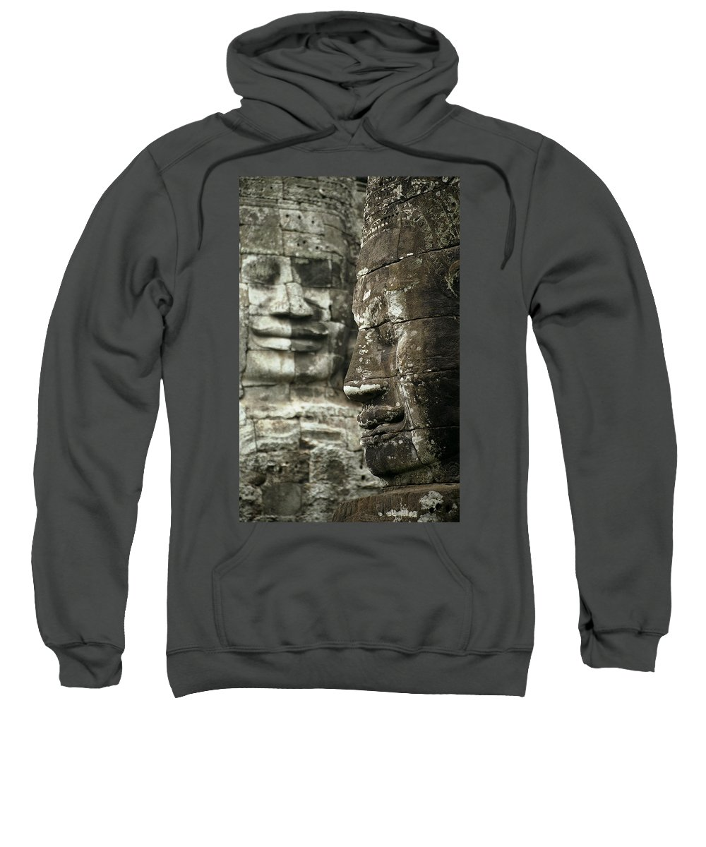Bayon Sweatshirt featuring the photograph Bayonii by Patrick Klauss