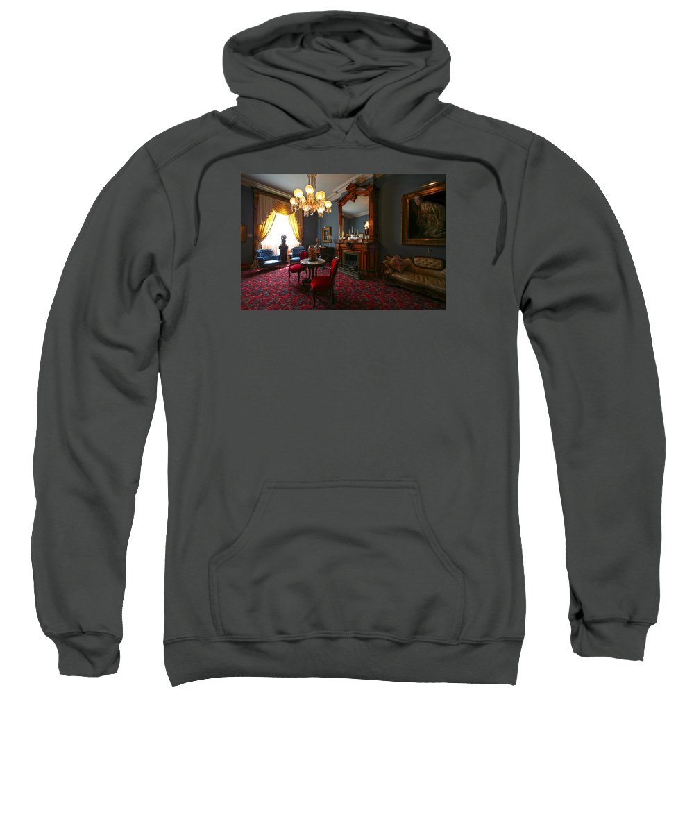 Ghost Sweatshirt featuring the photograph Be Gone Before Nightfall by Robert Och