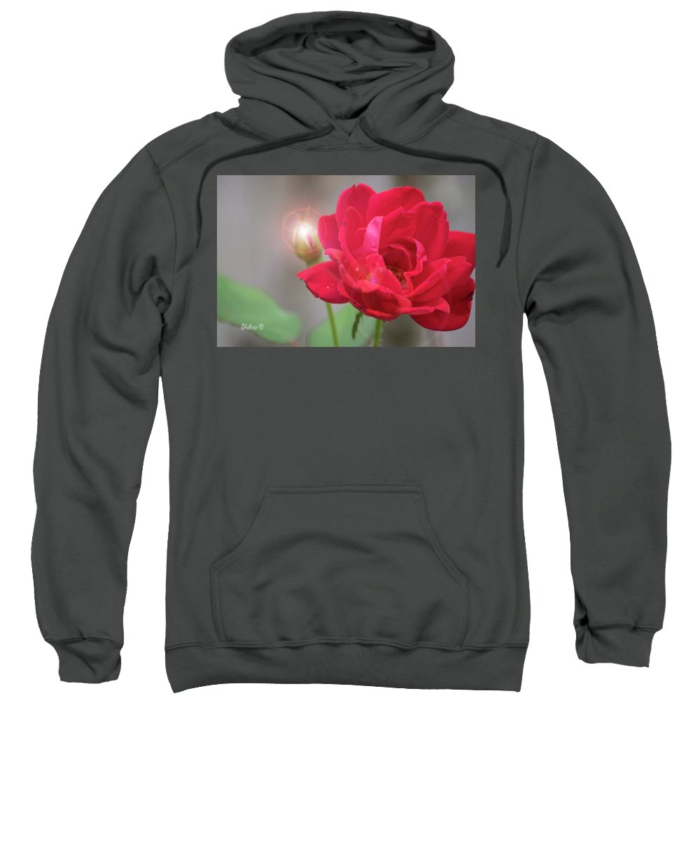 Roses Sweatshirt featuring the photograph Beam Of Light by Christopher Saleh