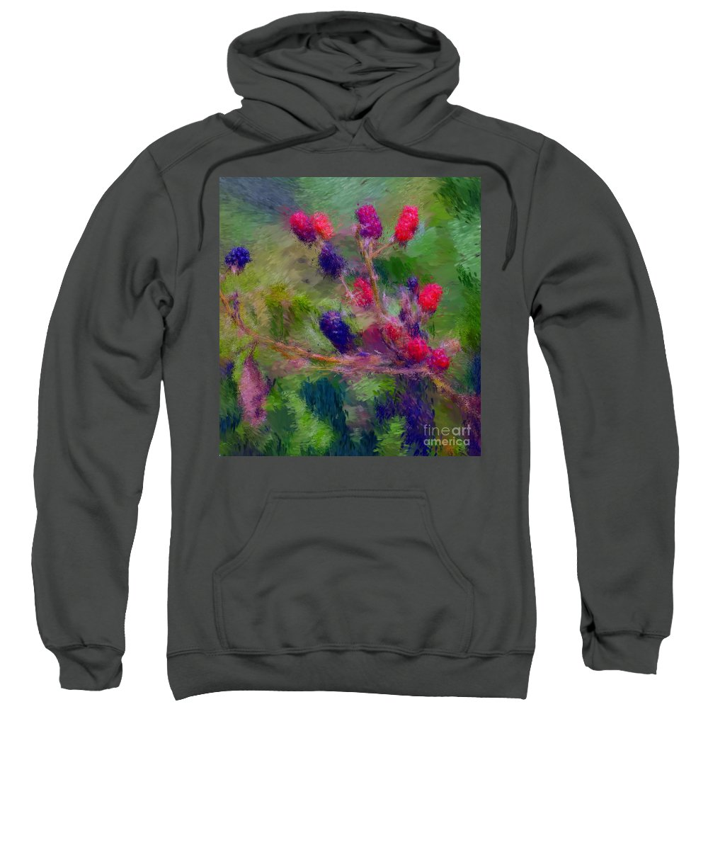 Nature Sweatshirt featuring the photograph Bear Fodder by David Lane