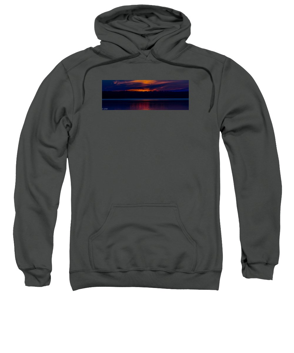 Indian Lake Sweatshirt featuring the photograph Beautiful Blue by Eric Davenport