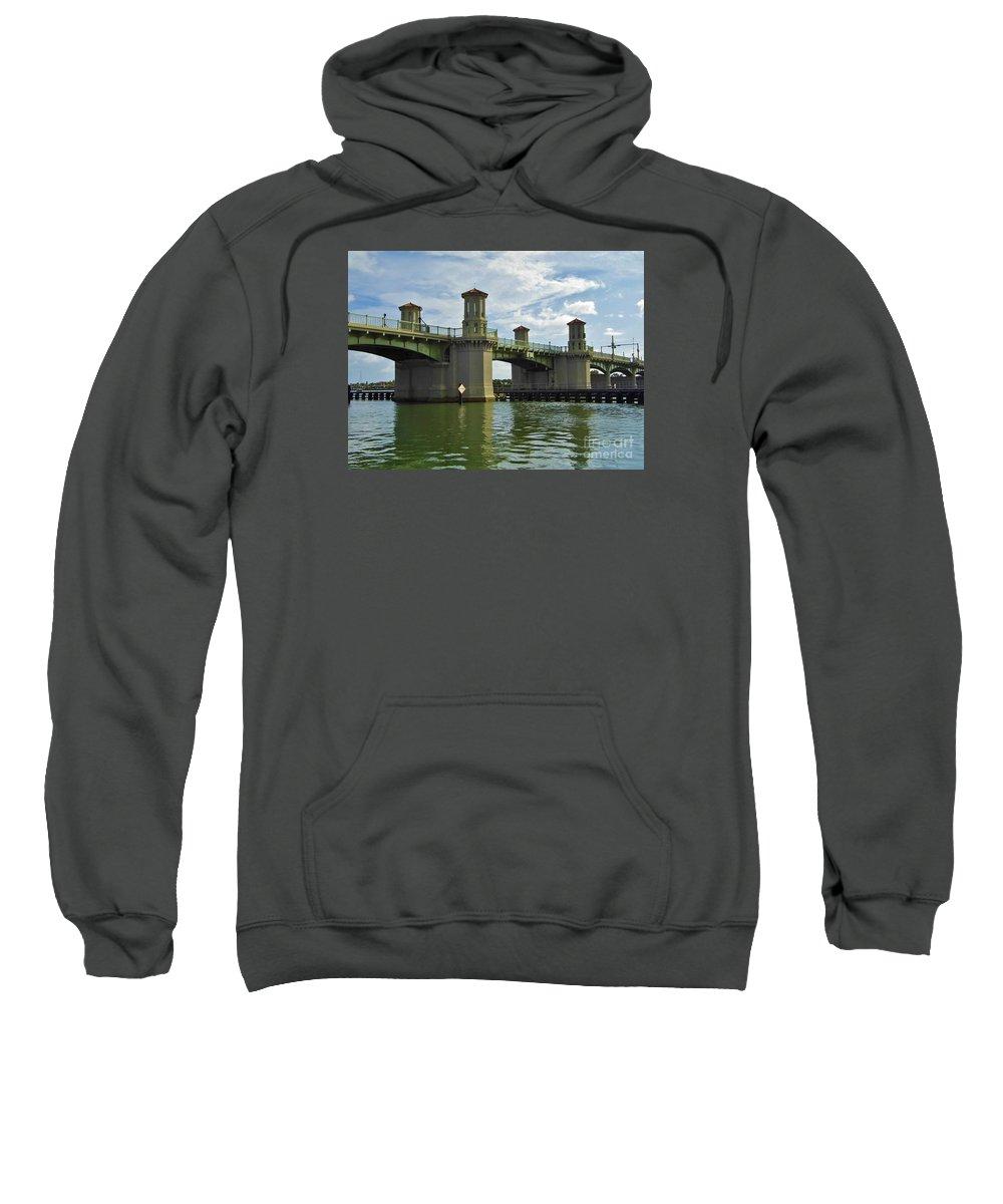 Bestseller Sweatshirt featuring the photograph Beautiful Bridge Of Lions by D Hackett