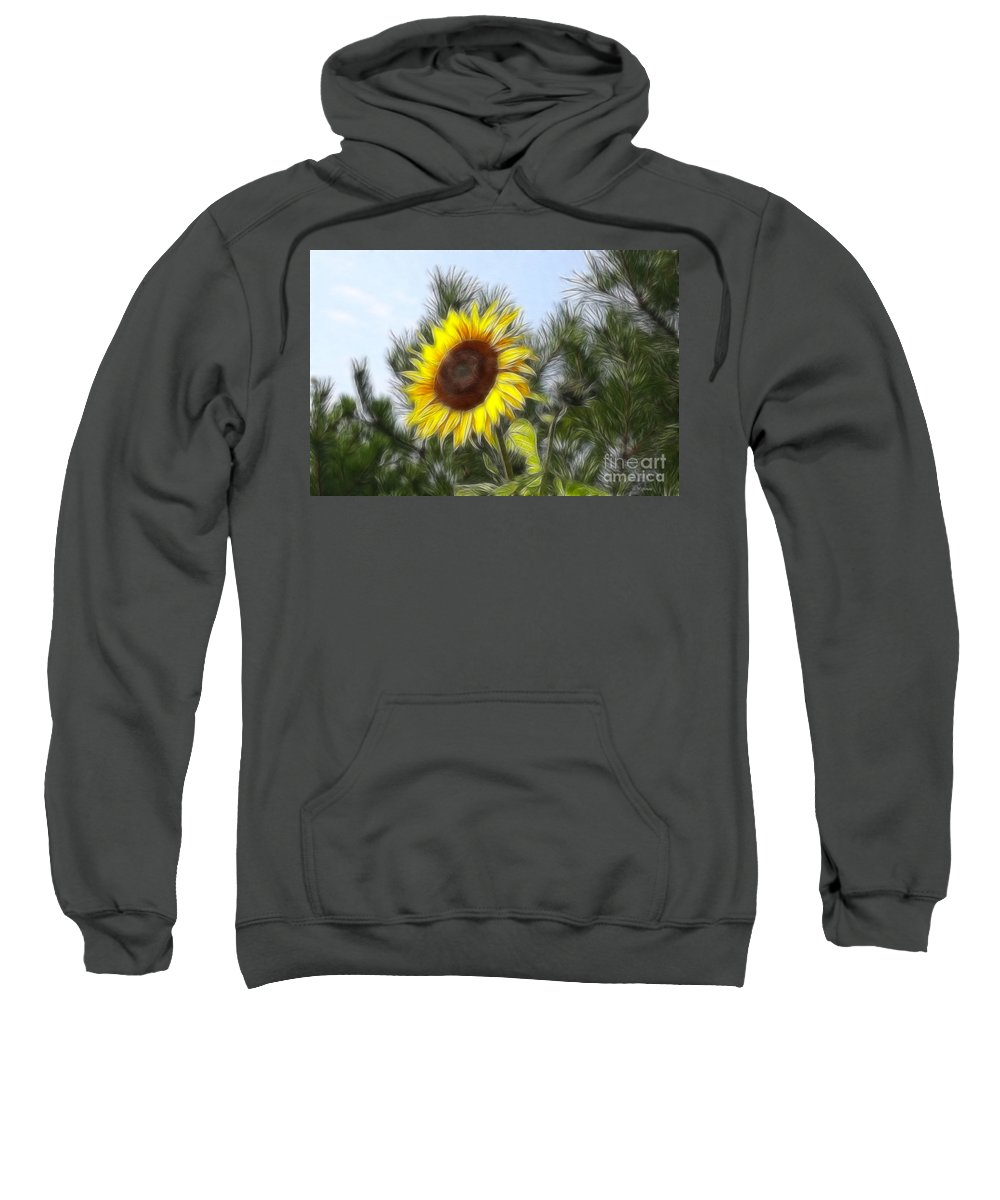 Fratalius Sweatshirt featuring the photograph Beauty In The Pines by Deborah Benoit