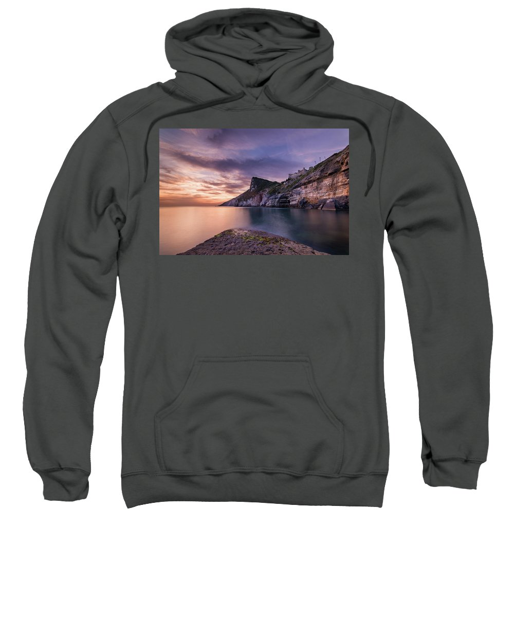 Europe Sweatshirt featuring the photograph Below The Castle by Michael Blanchette