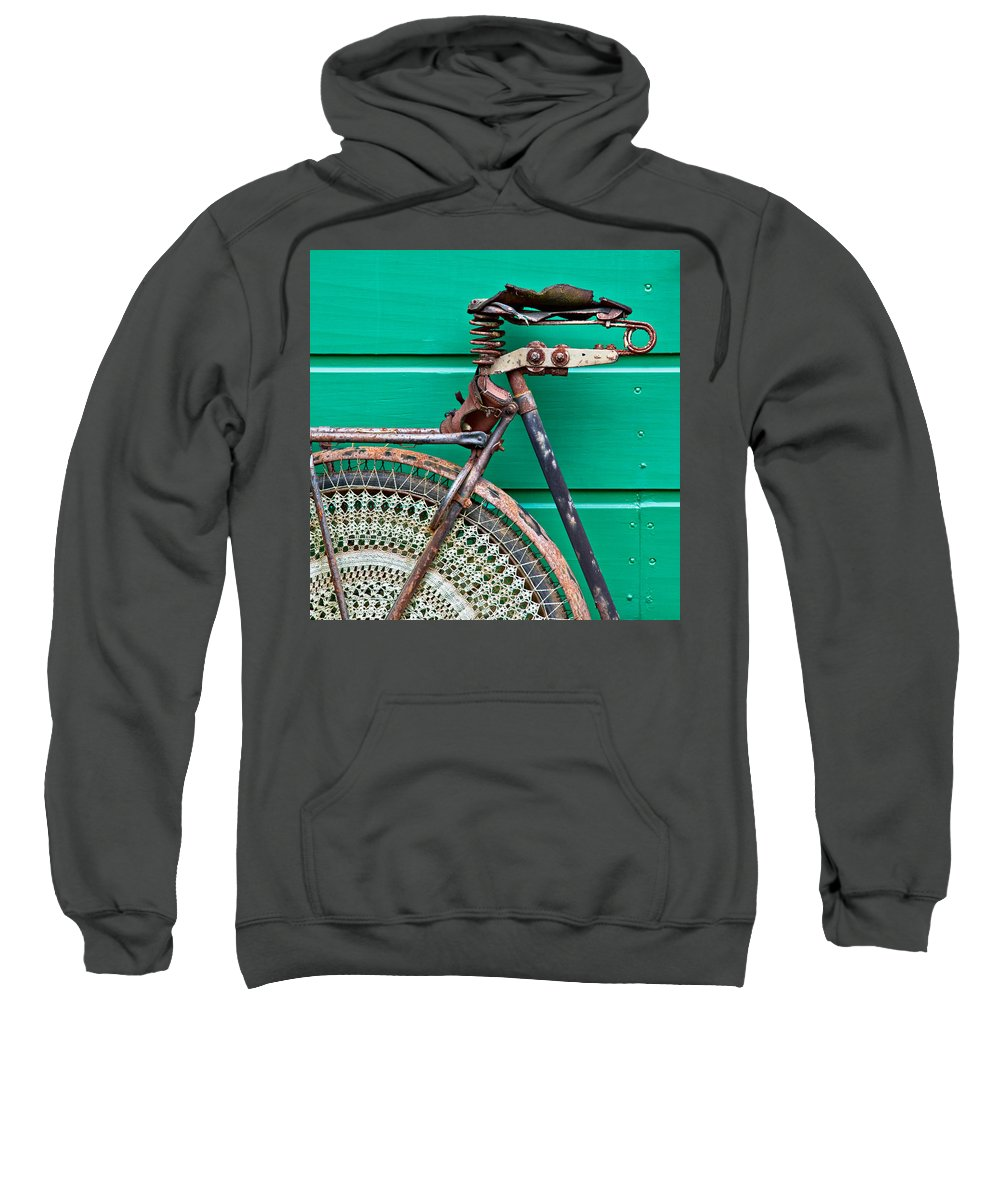 Bike Sweatshirt featuring the photograph Better Days by Dave Bowman