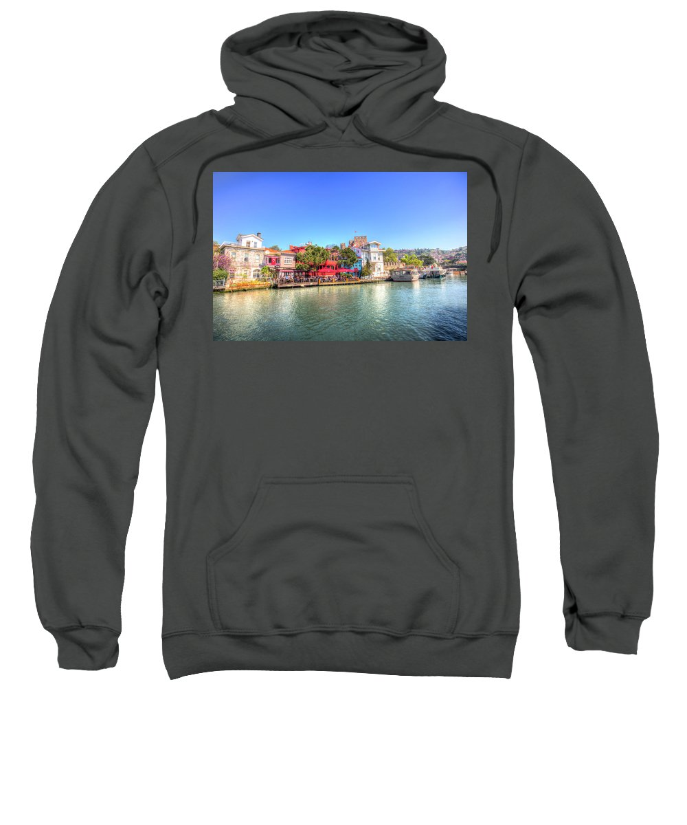 Bosphorus Sweatshirt featuring the photograph Beykoz Kucuksu Istanbul by David Pyatt