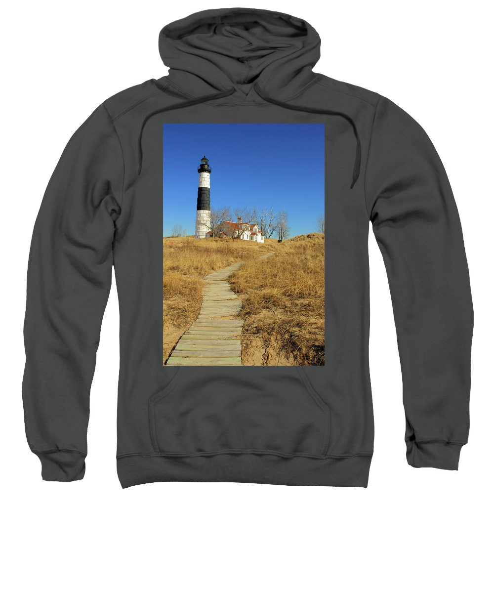 Light House Sweatshirt featuring the photograph Big Sable Point Lighthouse by Todd Maertz