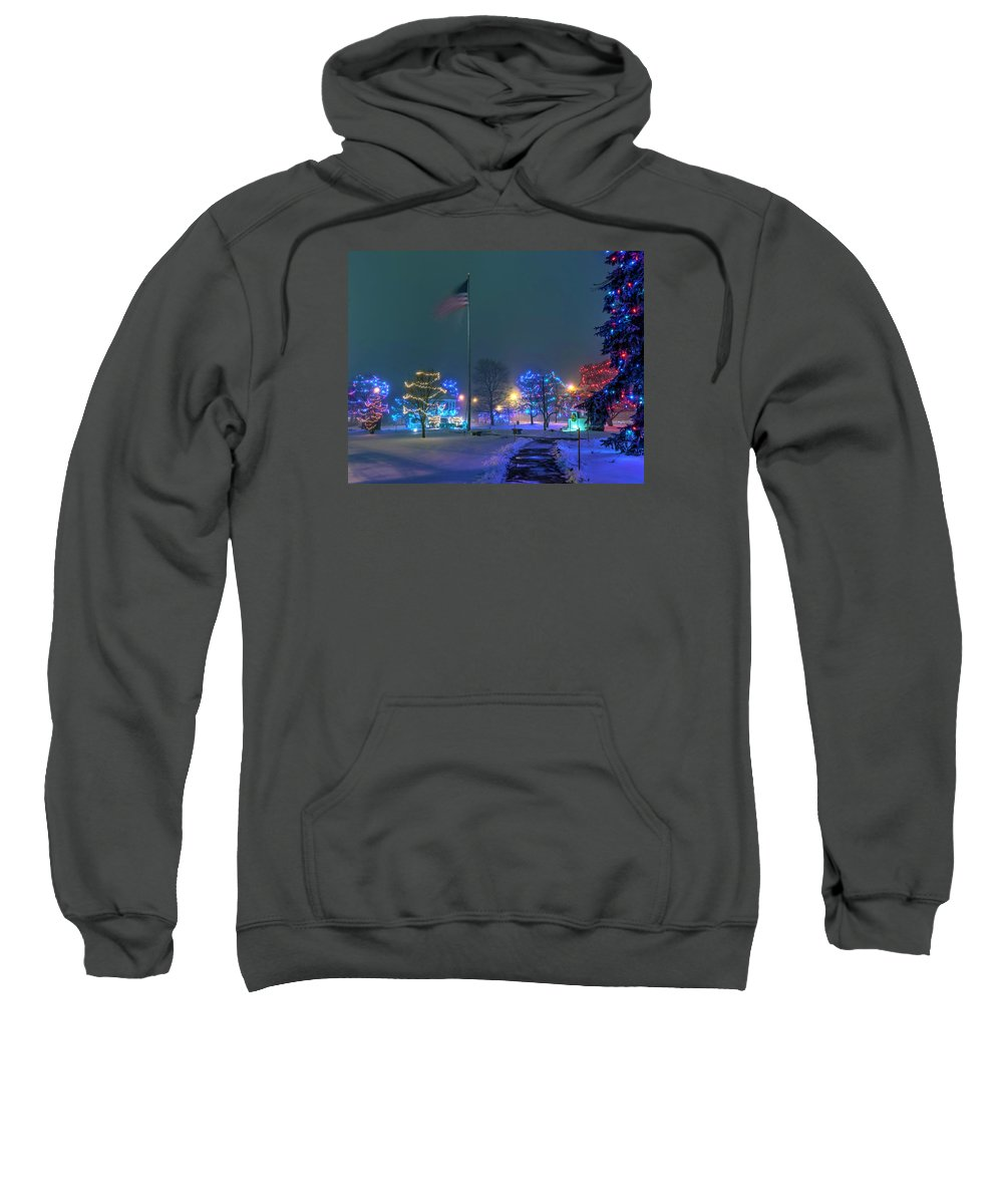 Civil Sweatshirt featuring the photograph Billerica Common 001 by Jeff Stallard