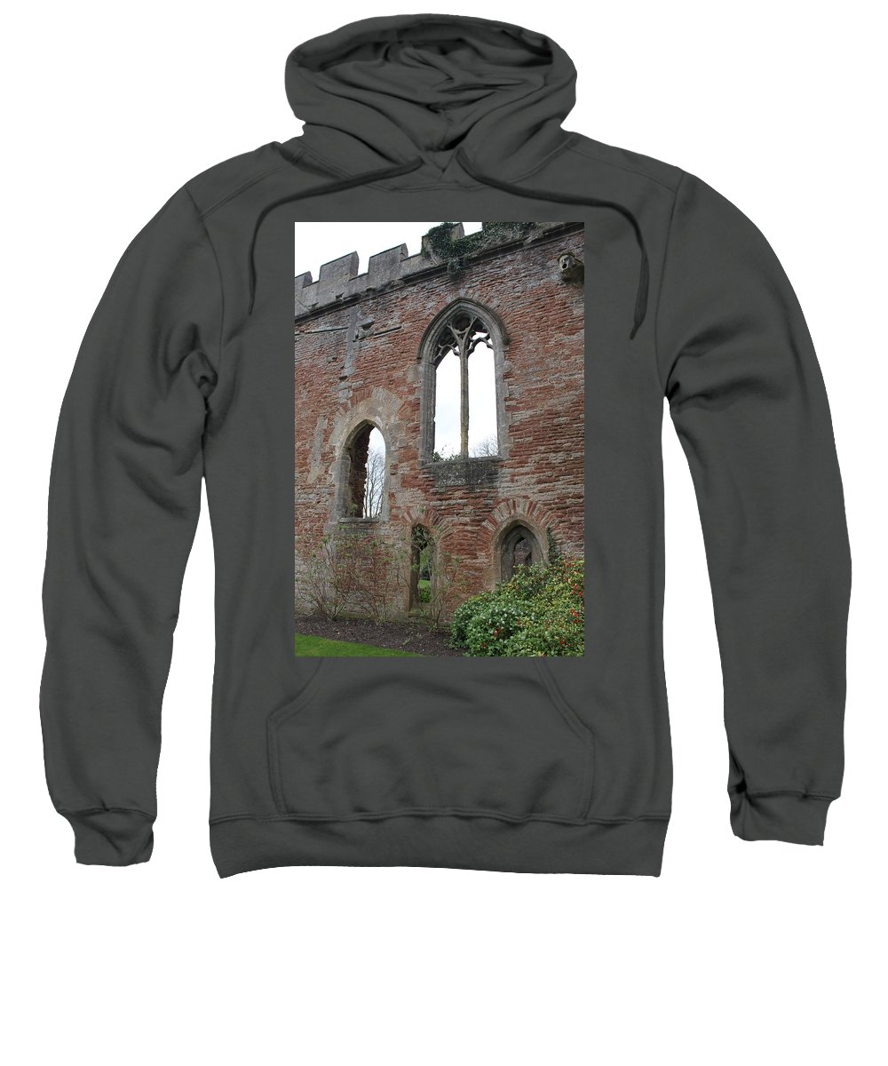 Bishops Palace Sweatshirt featuring the photograph Bishops Palace by Lauri Novak