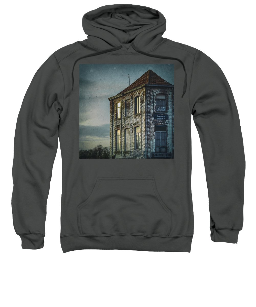 Life Sweatshirt featuring the photograph Bistro by TouTouke A Y