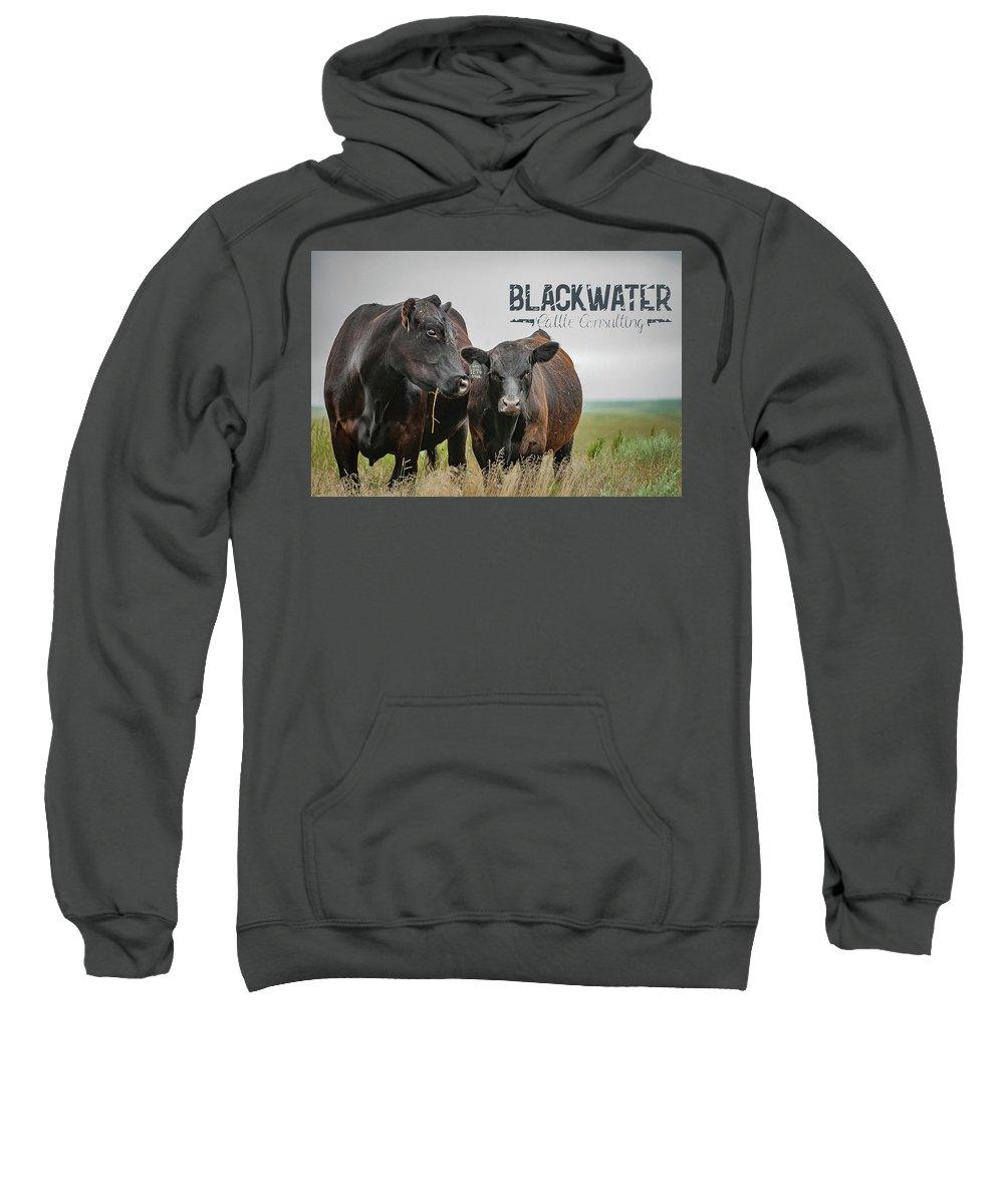 Sweatshirt featuring the photograph Blackwater Mug by Jeffrey A Earl