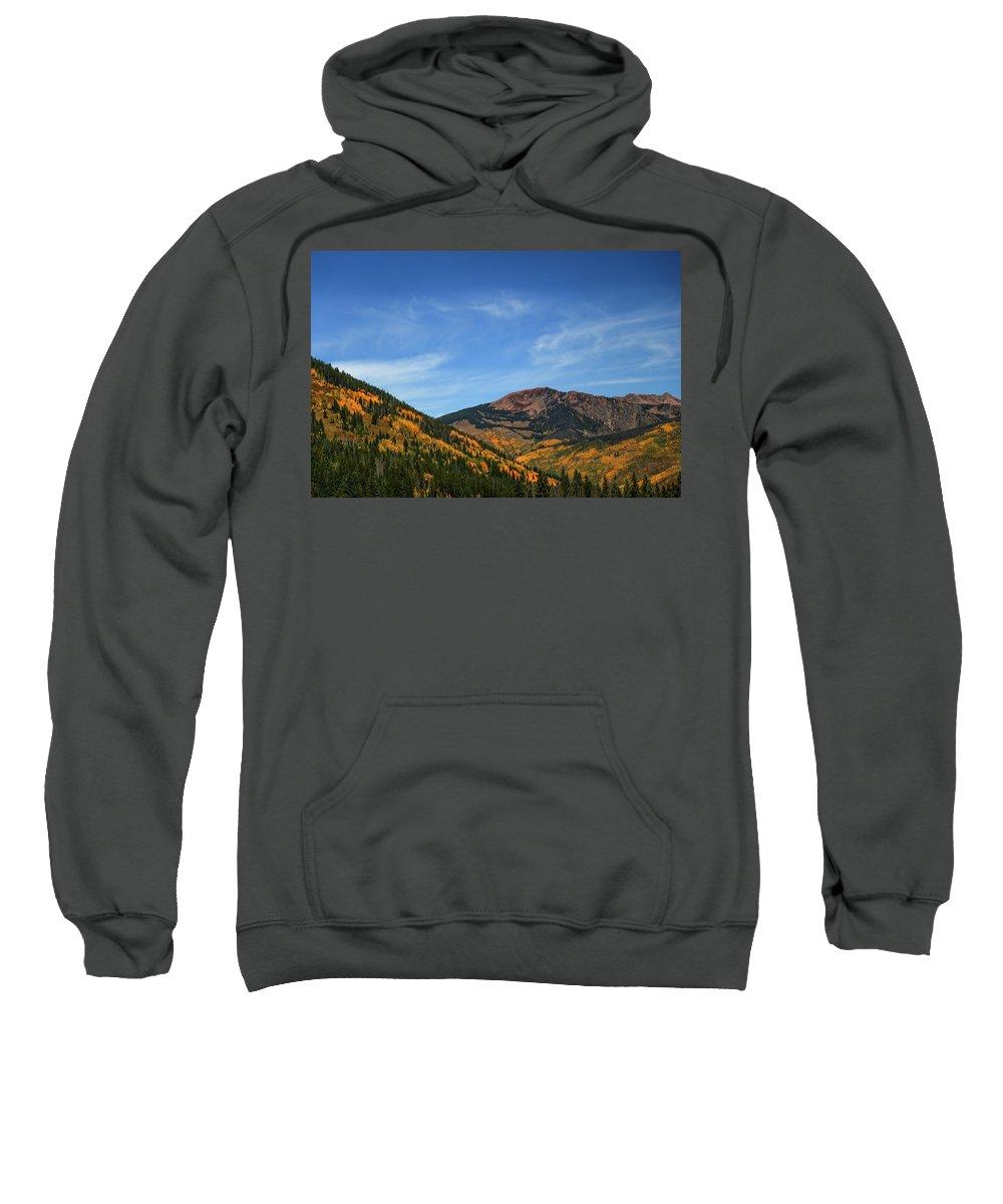 Aspen Sweatshirt featuring the photograph Bliss by Lisa Scammell