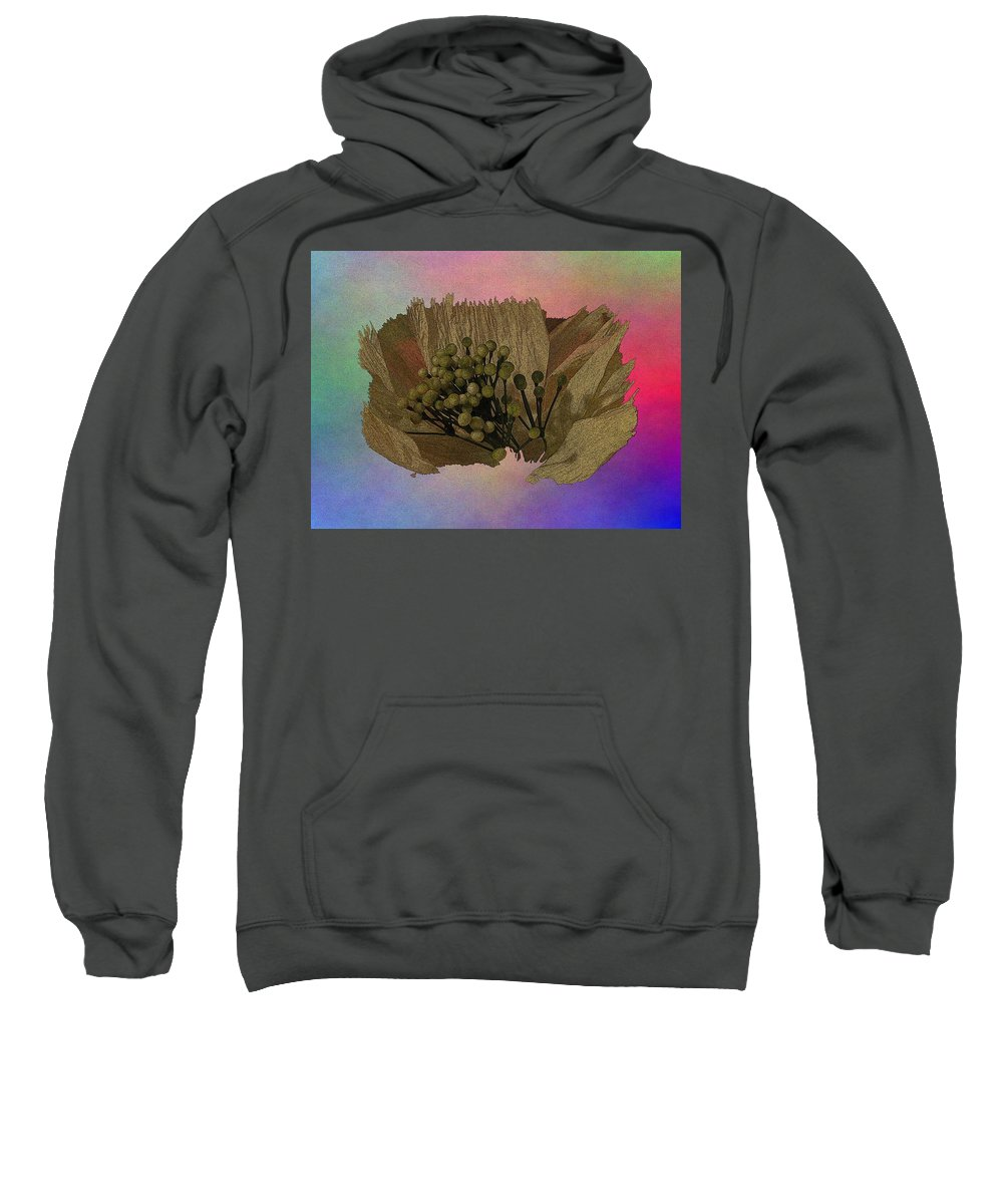 Abstract Sweatshirt featuring the digital art Blooming 2 by Tim Allen