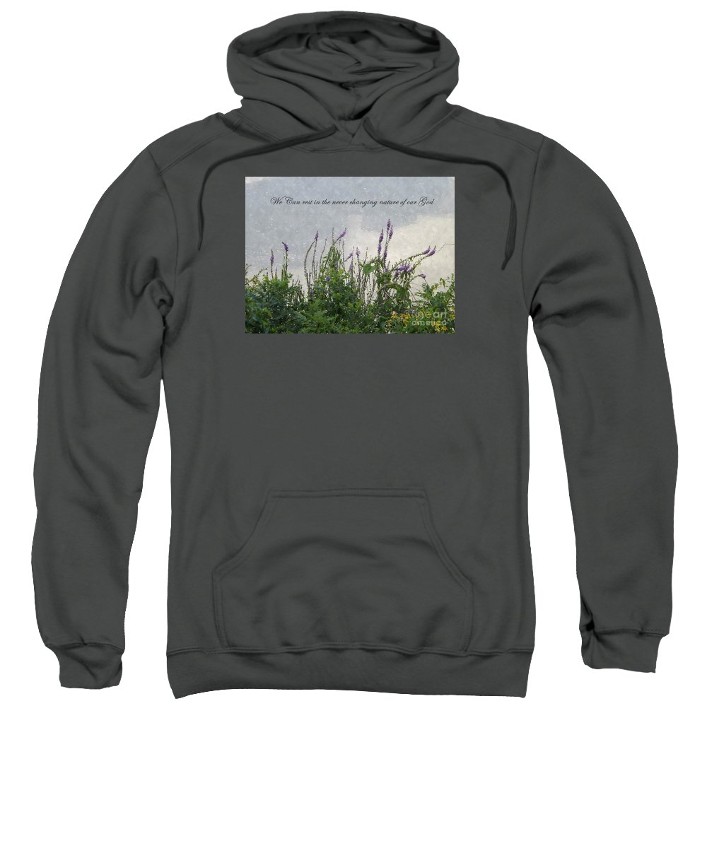 Nature Sweatshirt featuring the photograph Blowing In The Breeze by Sara Raber