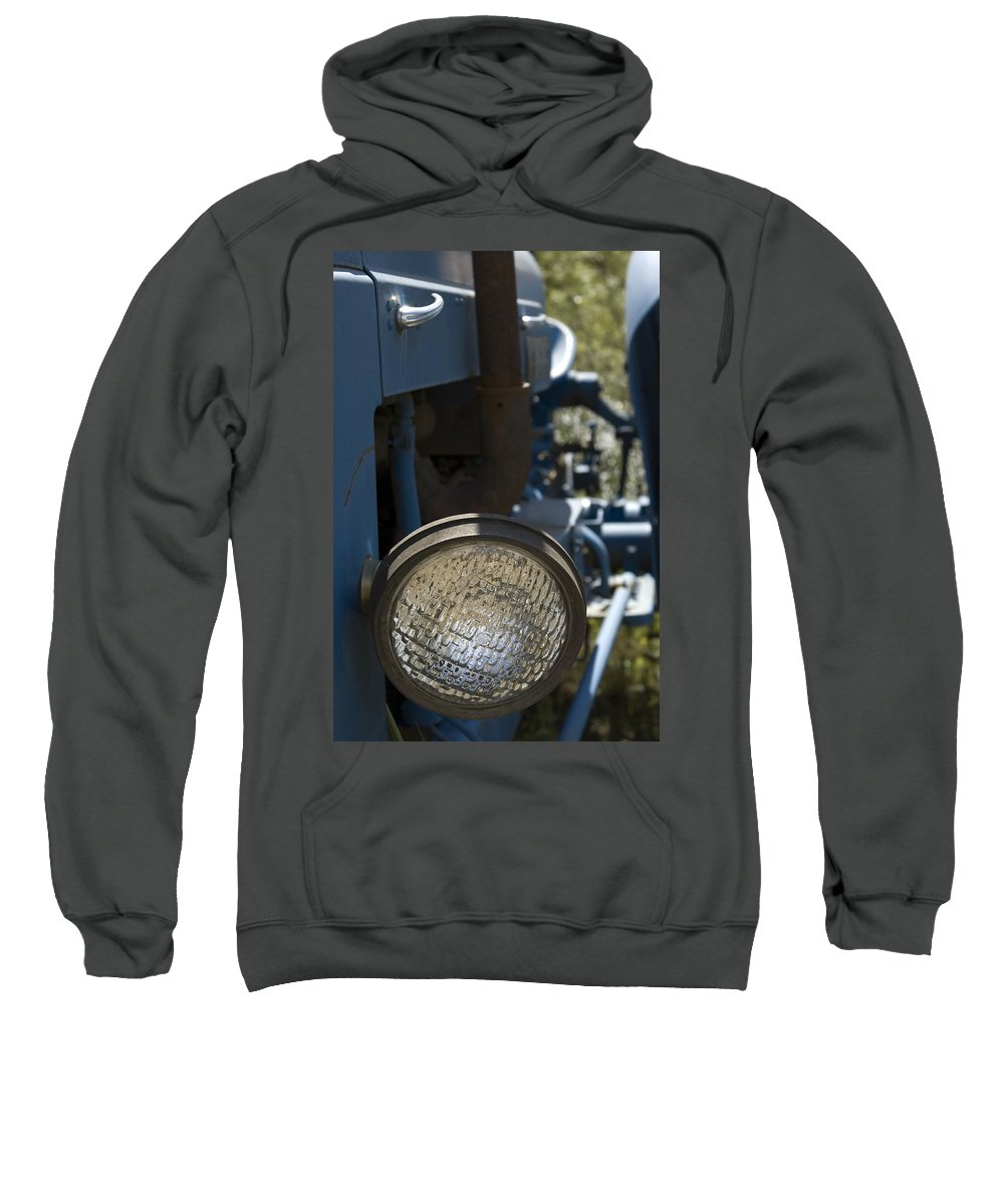 Tractor Sweatshirt featuring the photograph Blue Eye by Sara Stevenson