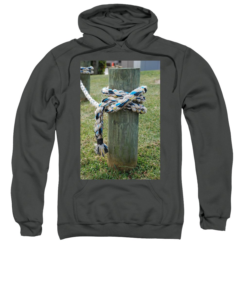 Boats Sweatshirt featuring the photograph Boat Lines by Rob Hans