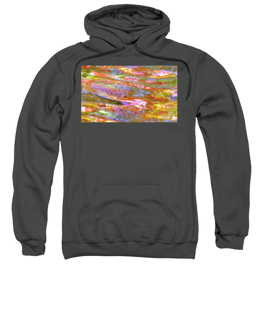 Abstract Sweatshirt featuring the photograph Beautiful Bones by Sybil Staples
