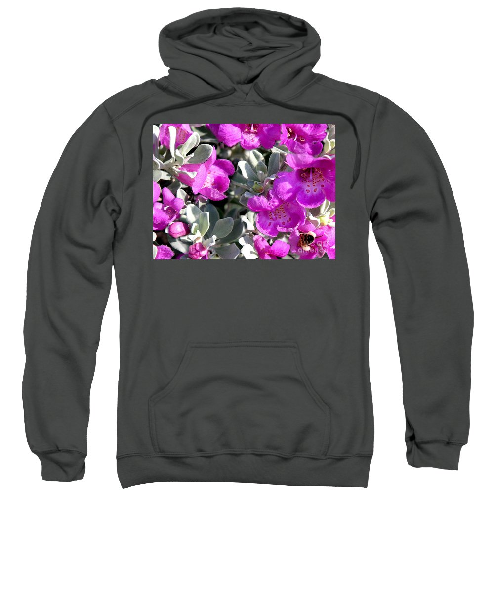 Nature Sweatshirt featuring the photograph Bottoms Up by Lucyna A M Green