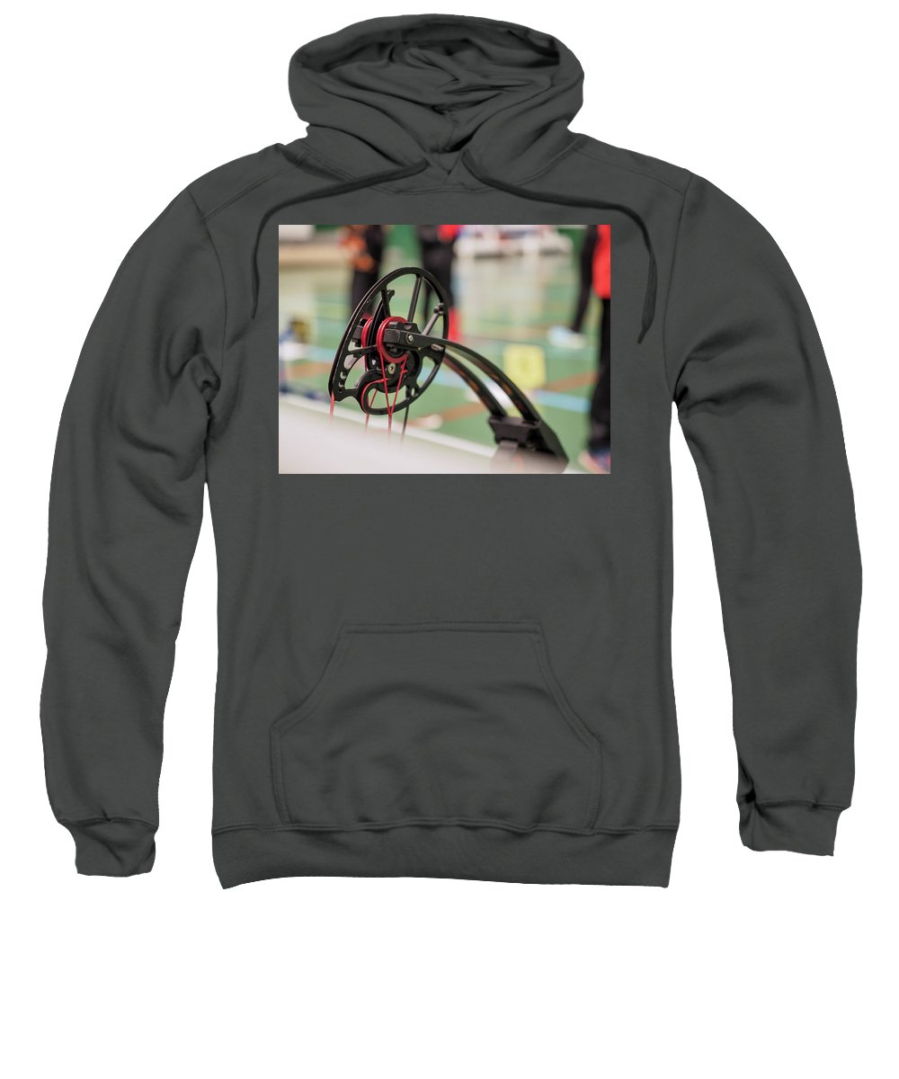 Bow Sweatshirt featuring the photograph Bow by Hector Lacunza