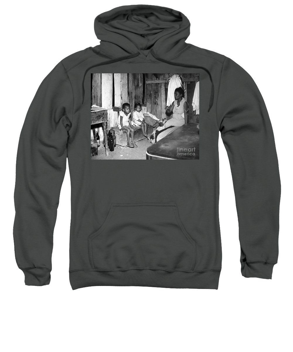 20th Century Sweatshirt featuring the photograph Brazil: Favela, 20th Century by Granger