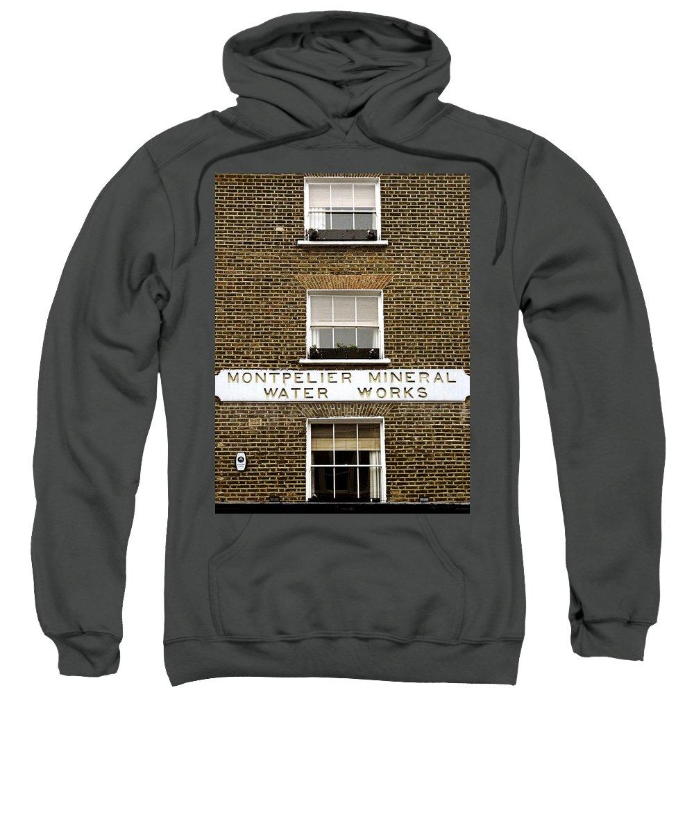 London Sweatshirt featuring the photograph Brick by Osvaldo Hamer