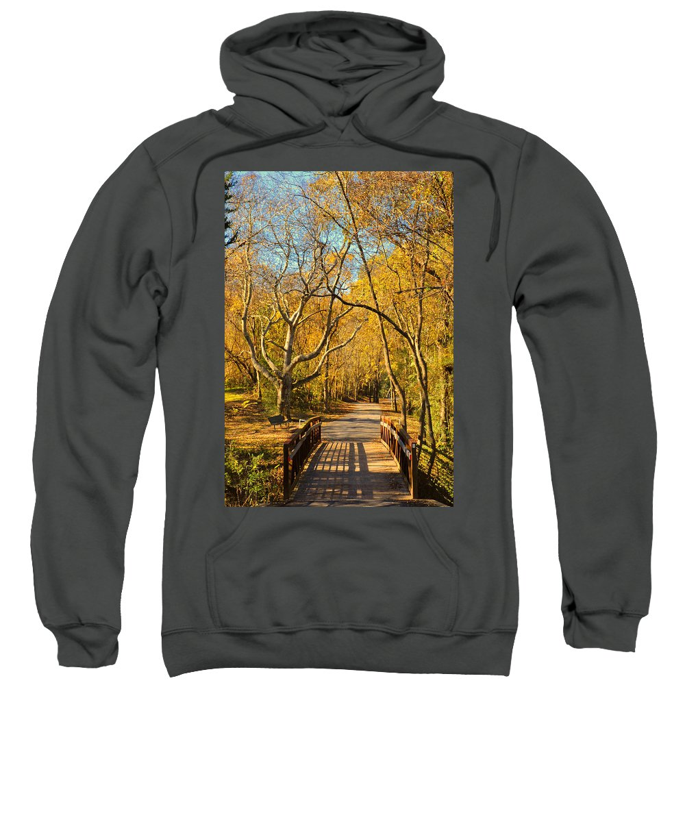 Trail Sweatshirt featuring the photograph Bridge Of Sighs by Stephen Anderson