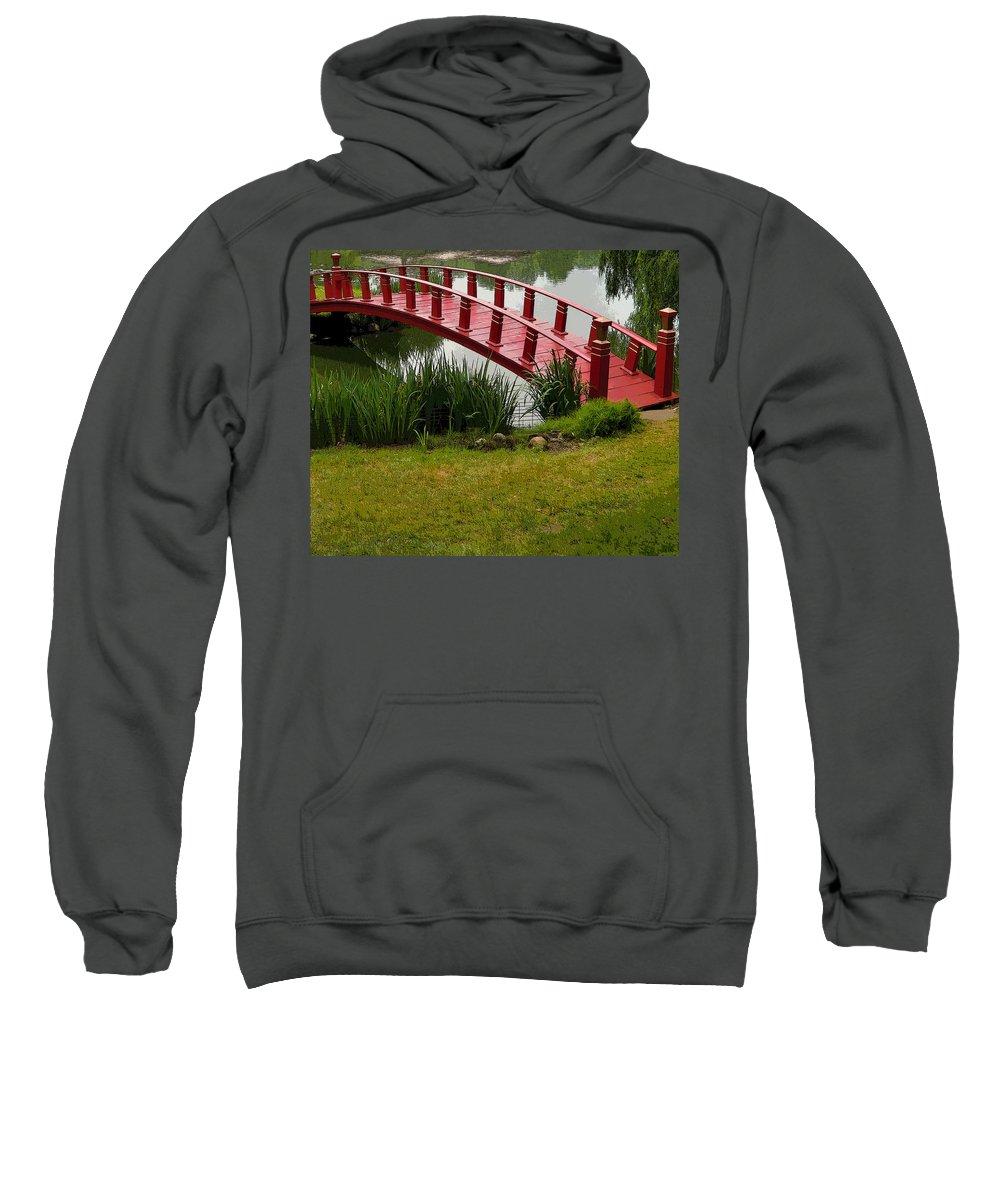 Bridge Sweatshirt featuring the photograph Bridge To Nowhere by Mindy Newman