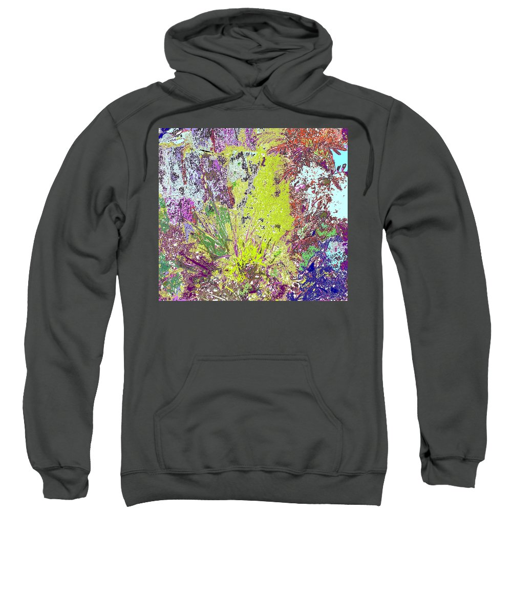 Abstract Sweatshirt featuring the photograph Brimstone Fantasy by Ian MacDonald