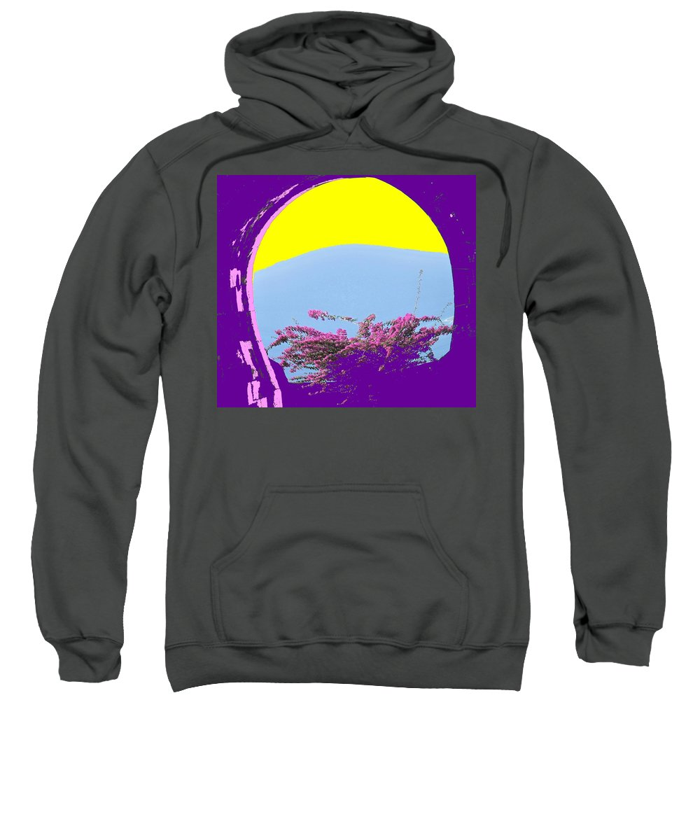 Brimstone Sweatshirt featuring the photograph Brimstone Gate by Ian MacDonald