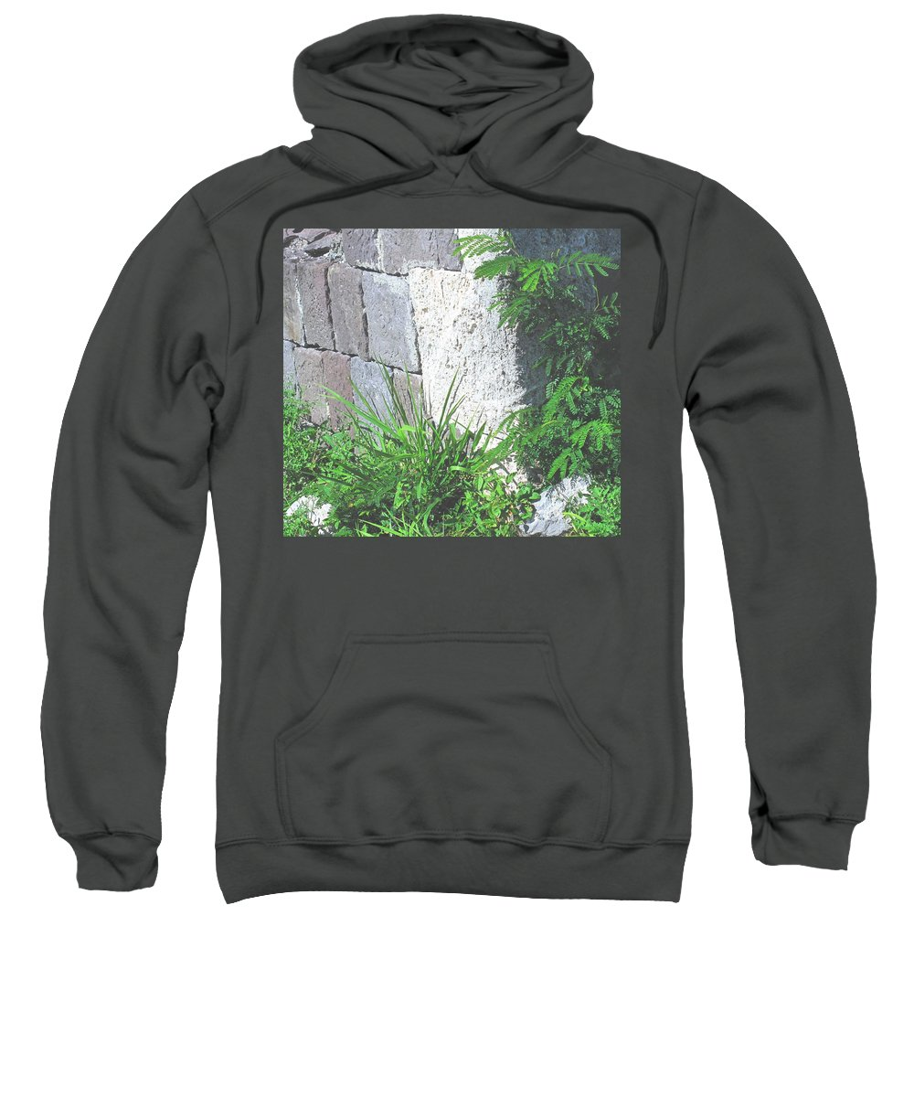 Brimstone Sweatshirt featuring the photograph Brimstone Wall by Ian MacDonald