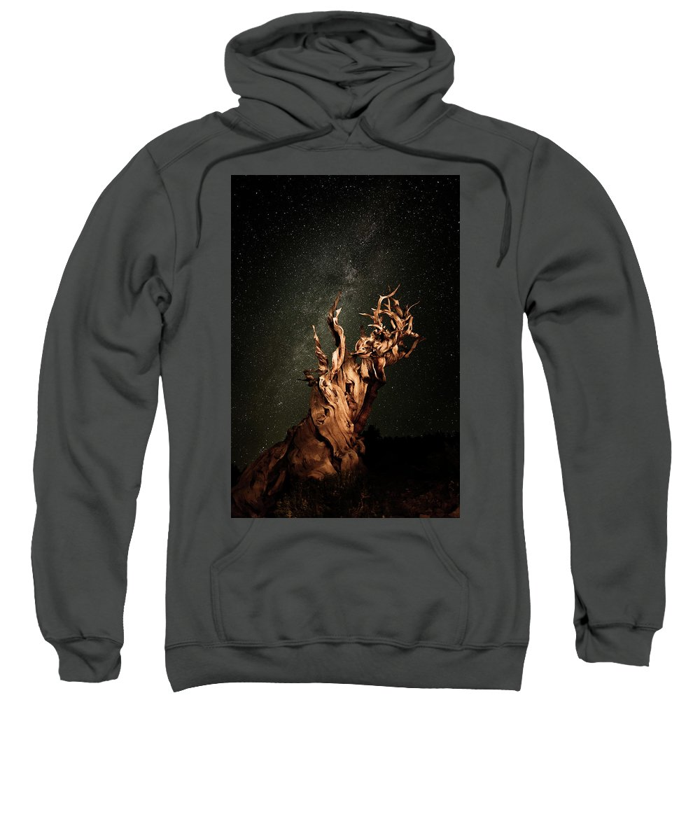 Sweatshirt featuring the photograph Bristlecone Nights by Stacie Rabe