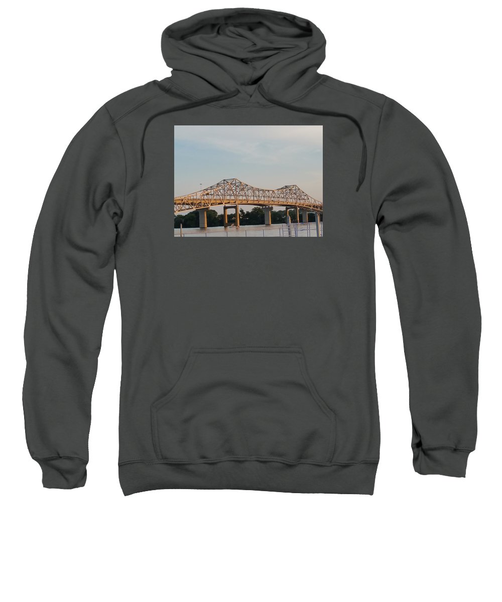 Beautiful Bridge Decatur Alabama Sweatshirt featuring the photograph Bueatiful Bridge by Christian White