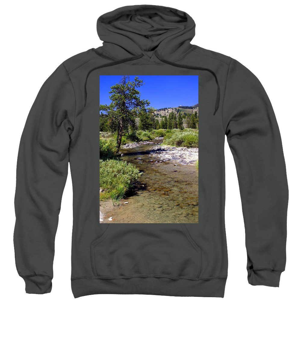 Montana Sweatshirt featuring the photograph Buffalo Fork by Marty Koch
