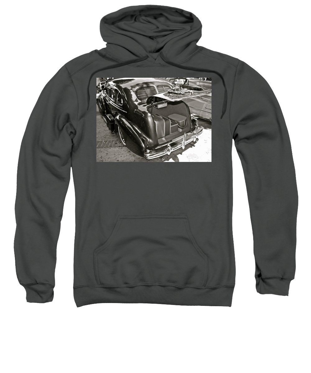 Photograph Sweatshirt featuring the photograph Buick Road Trip by Gwyn Newcombe