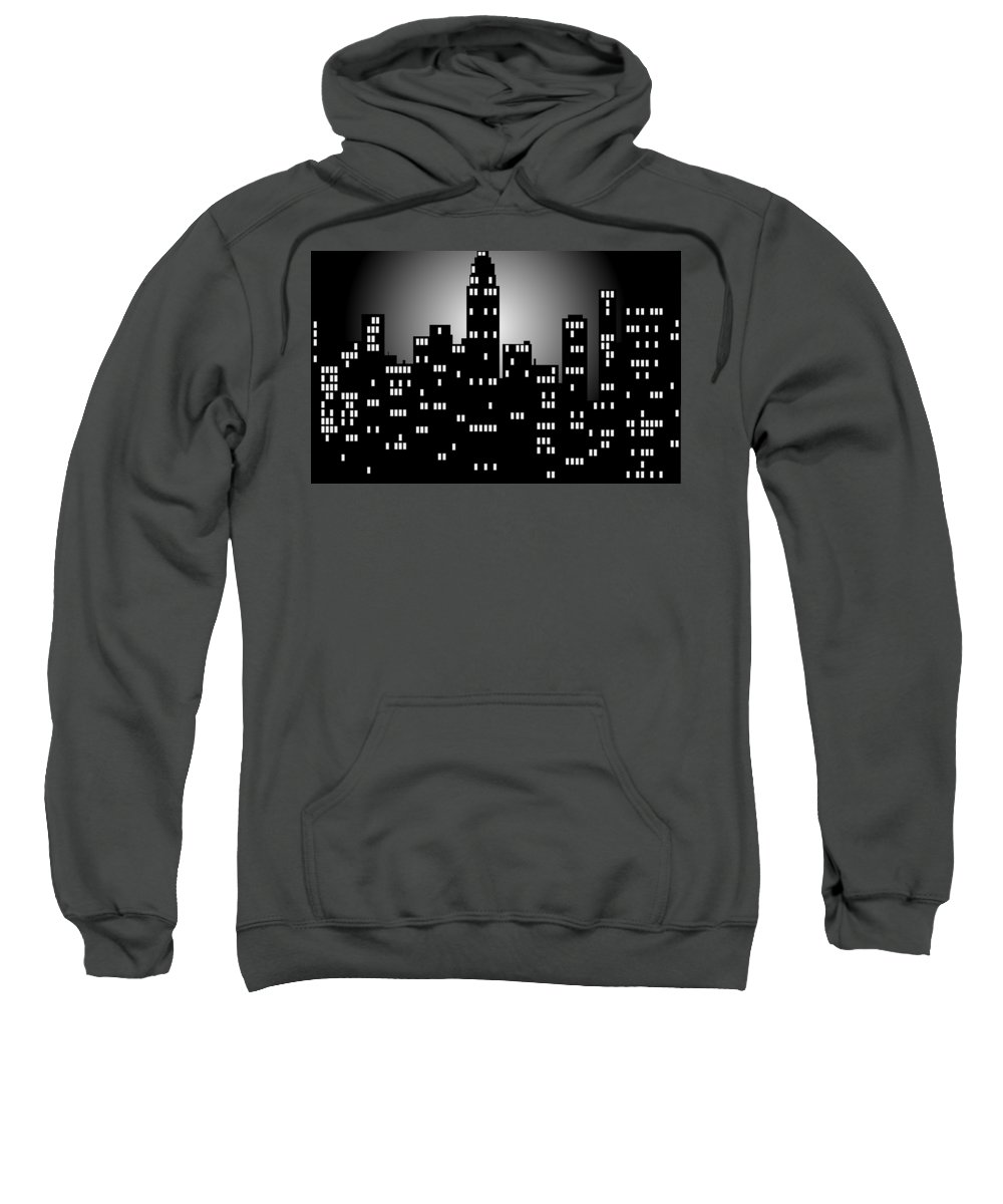 Crowd Digital Art Hooded Sweatshirts T-Shirts