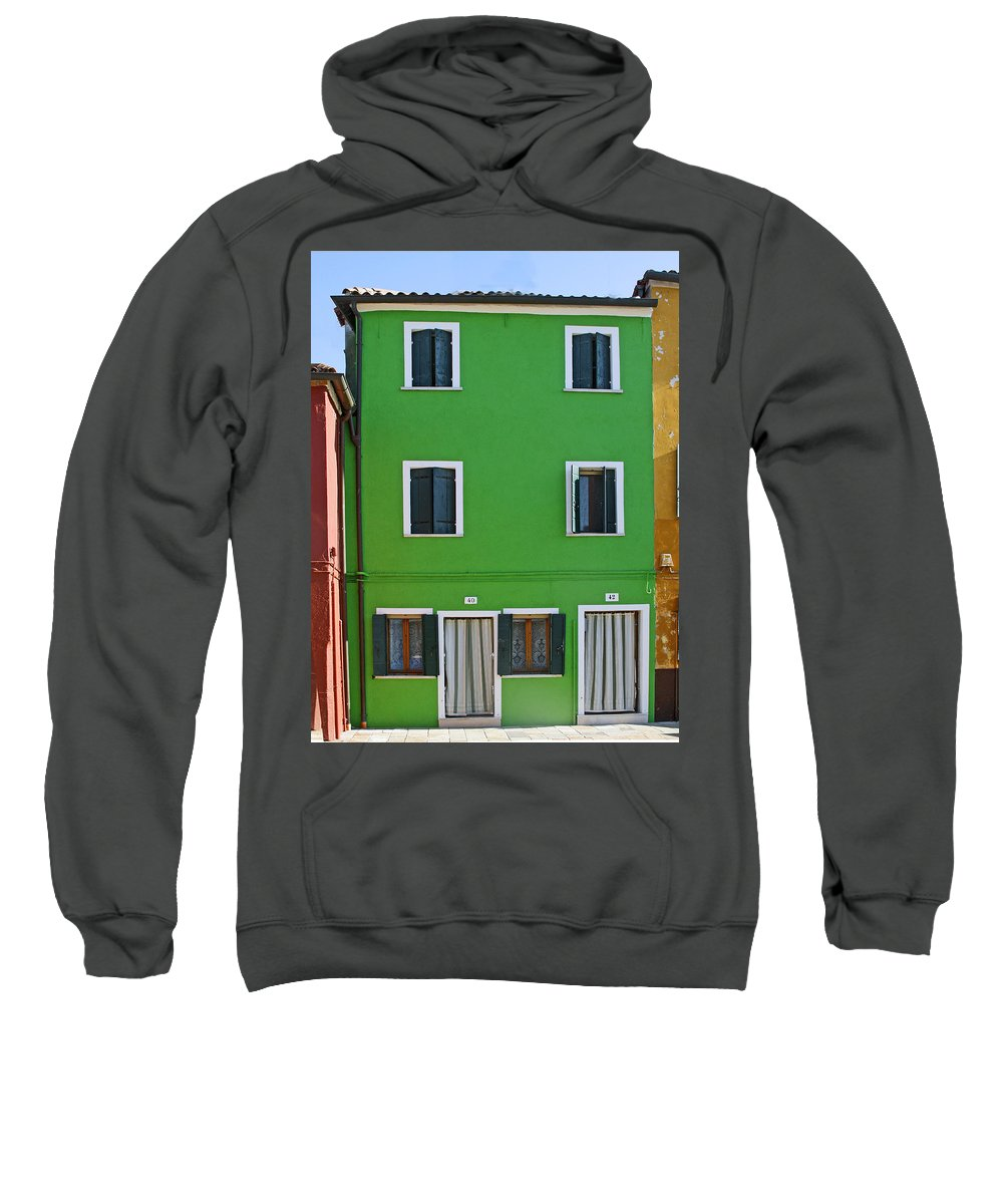 Cityscape Sweatshirt featuring the photograph #40 And #42 by Rick Locke