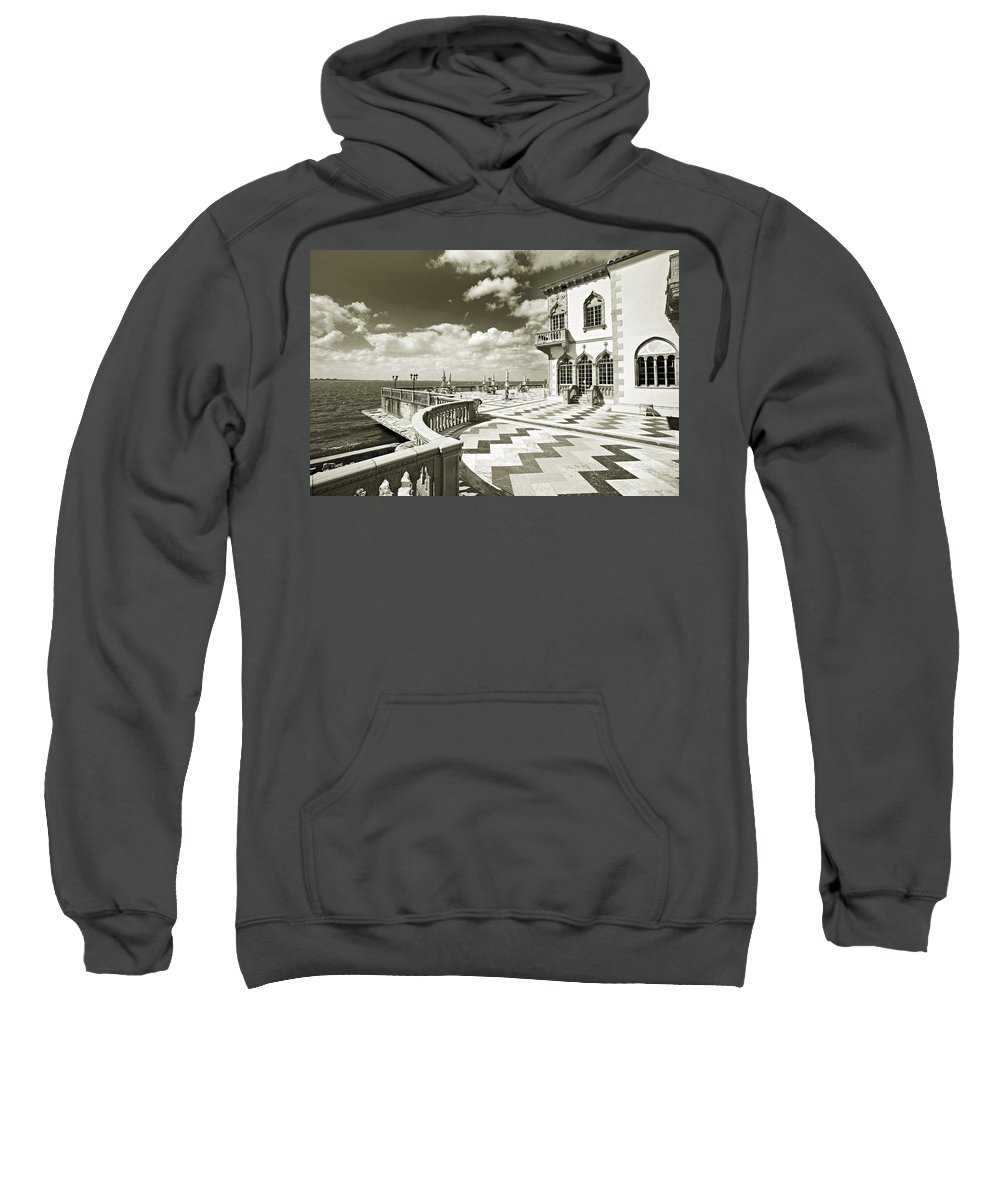 Ringling Sweatshirt featuring the photograph Ca D'zan Mansion by Mal Bray