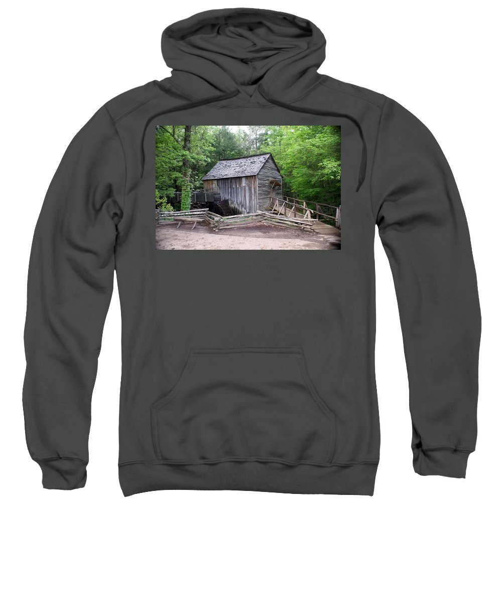 Cable Mill Sweatshirt featuring the photograph Cable Mill by Marty Koch