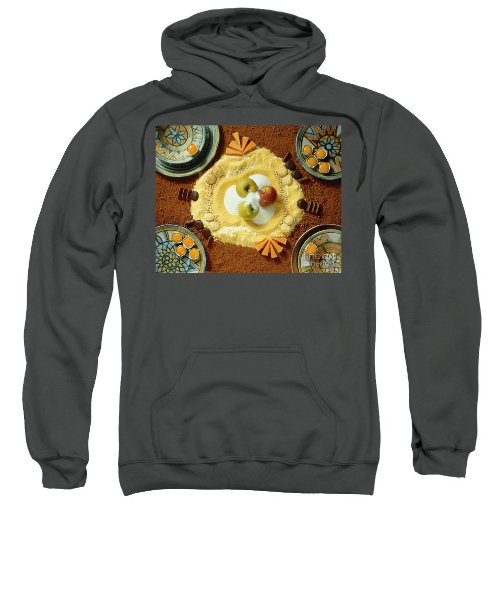 Arty Sweatshirt featuring the photograph Cacao And More by Stefania Levi