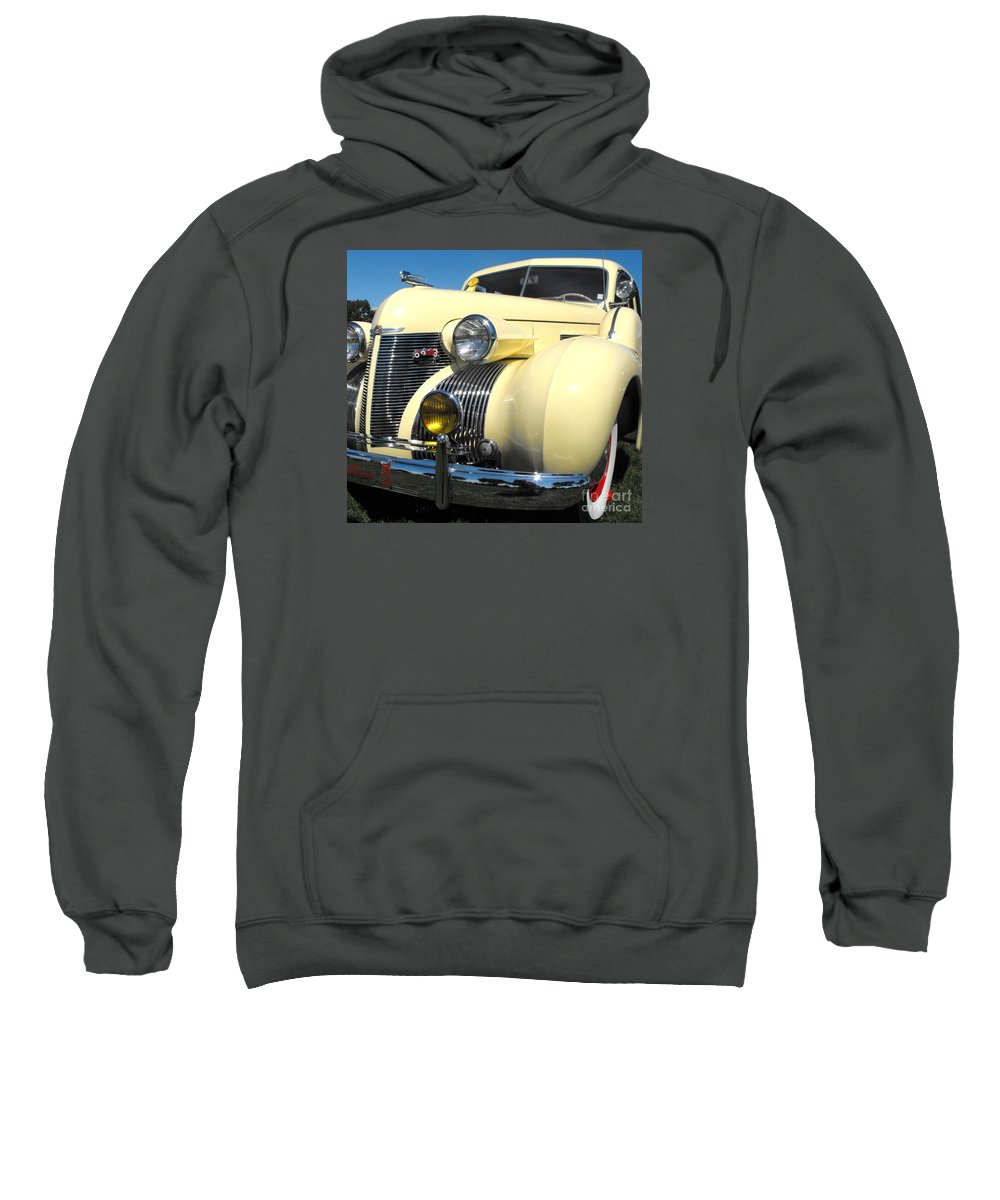 Cadillac Sweatshirt featuring the photograph Cadillac Fleetwood by Neil Zimmerman