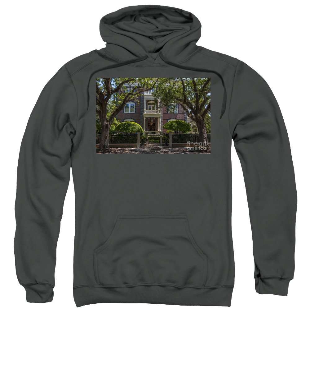 Calhoun Mansion Sweatshirt featuring the photograph Calhoun Mansion by Dale Powell