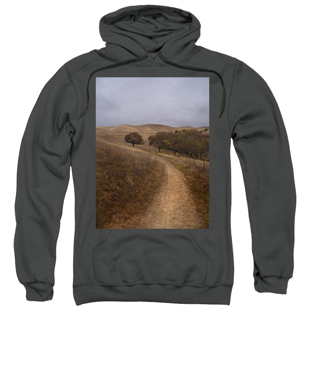 Landscape Sweatshirt featuring the photograph California Winter by Karen W Meyer