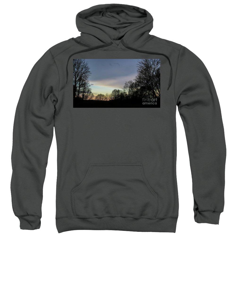 Calm Sweatshirt featuring the photograph Calm On The Horizon by Stephanie Forrer-Harbridge