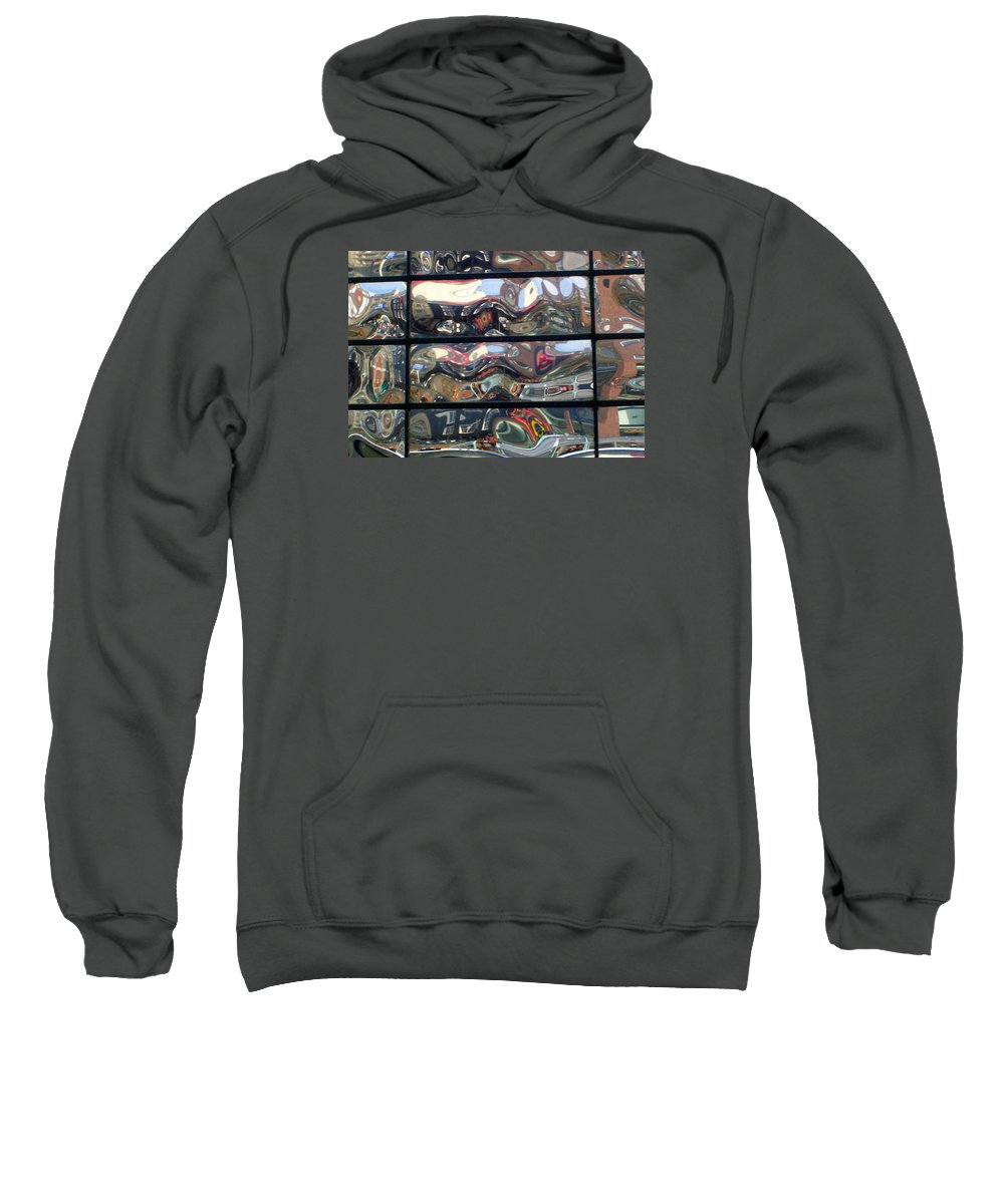 Amsterdam Sweatshirt featuring the photograph Canal Wave Amsterdam. by Rodger Insh