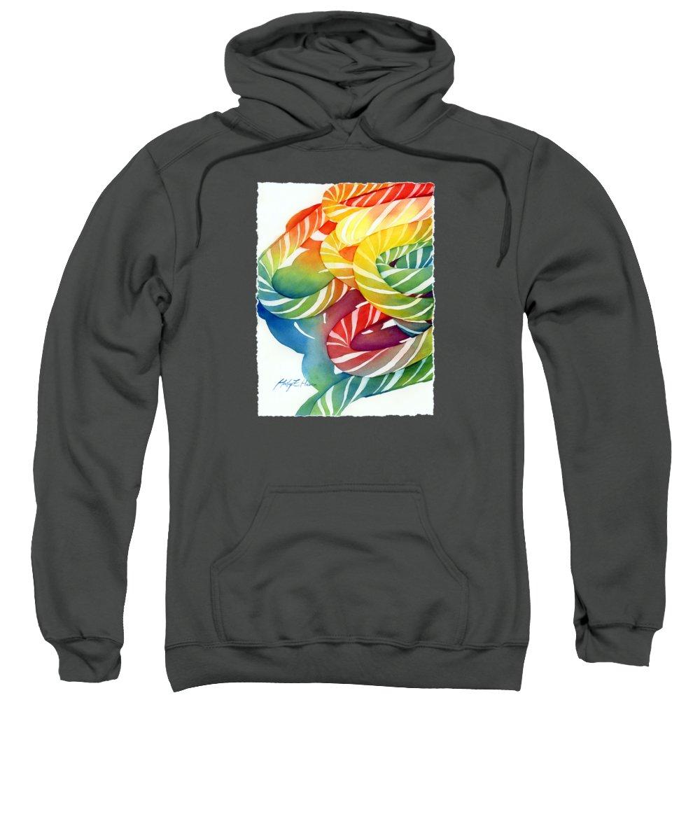 Spirals Hooded Sweatshirts T-Shirts