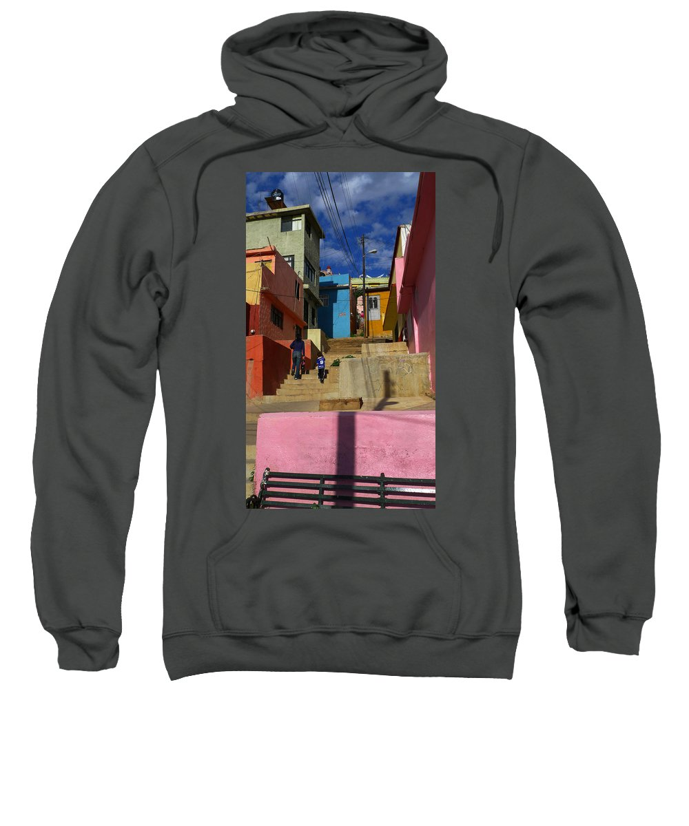 Skip Hunt Sweatshirt featuring the photograph Candyland by Skip Hunt