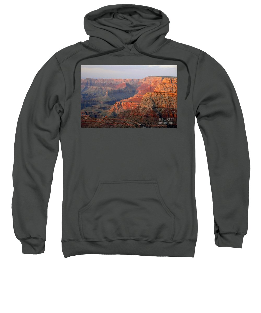 Grand Canyon Sweatshirt featuring the photograph Canyon Dusk by David Lee Thompson