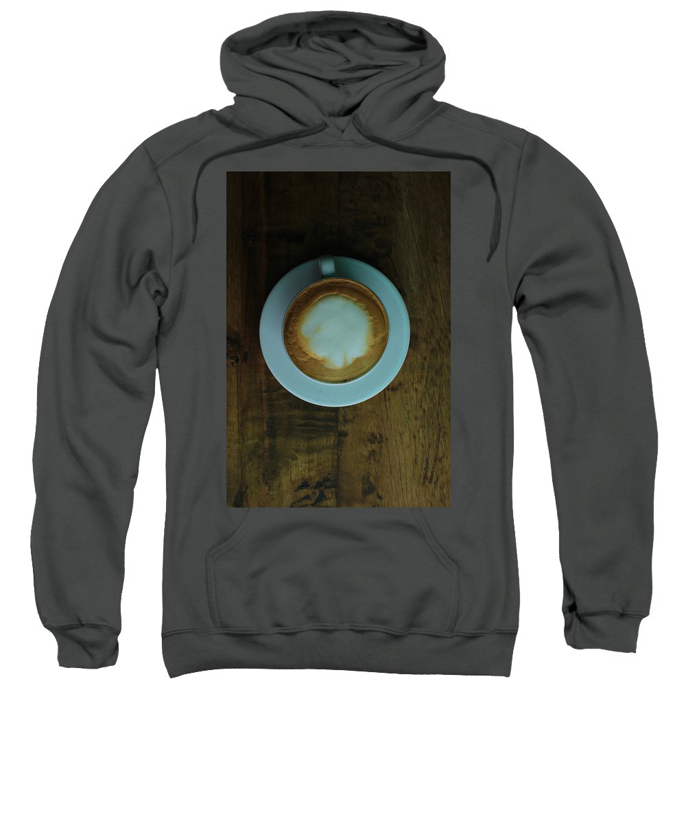 Cappuccino Sweatshirt featuring the photograph Cappuccino In A Cup by Robert Hamm