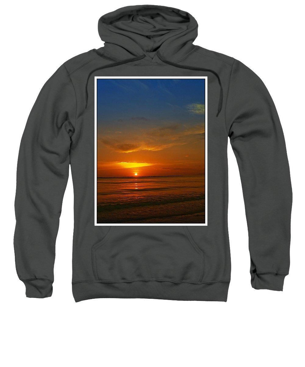 Sunshine Sweatshirt featuring the photograph Caribbean Morning by Galeria Trompiz